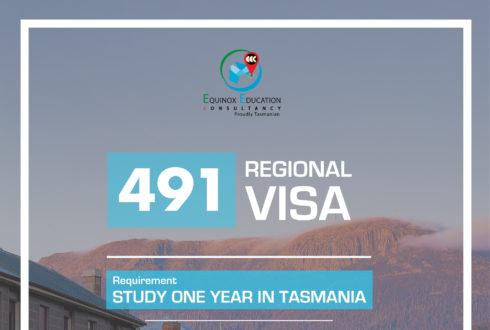 491 Regional Visa- Tasmania