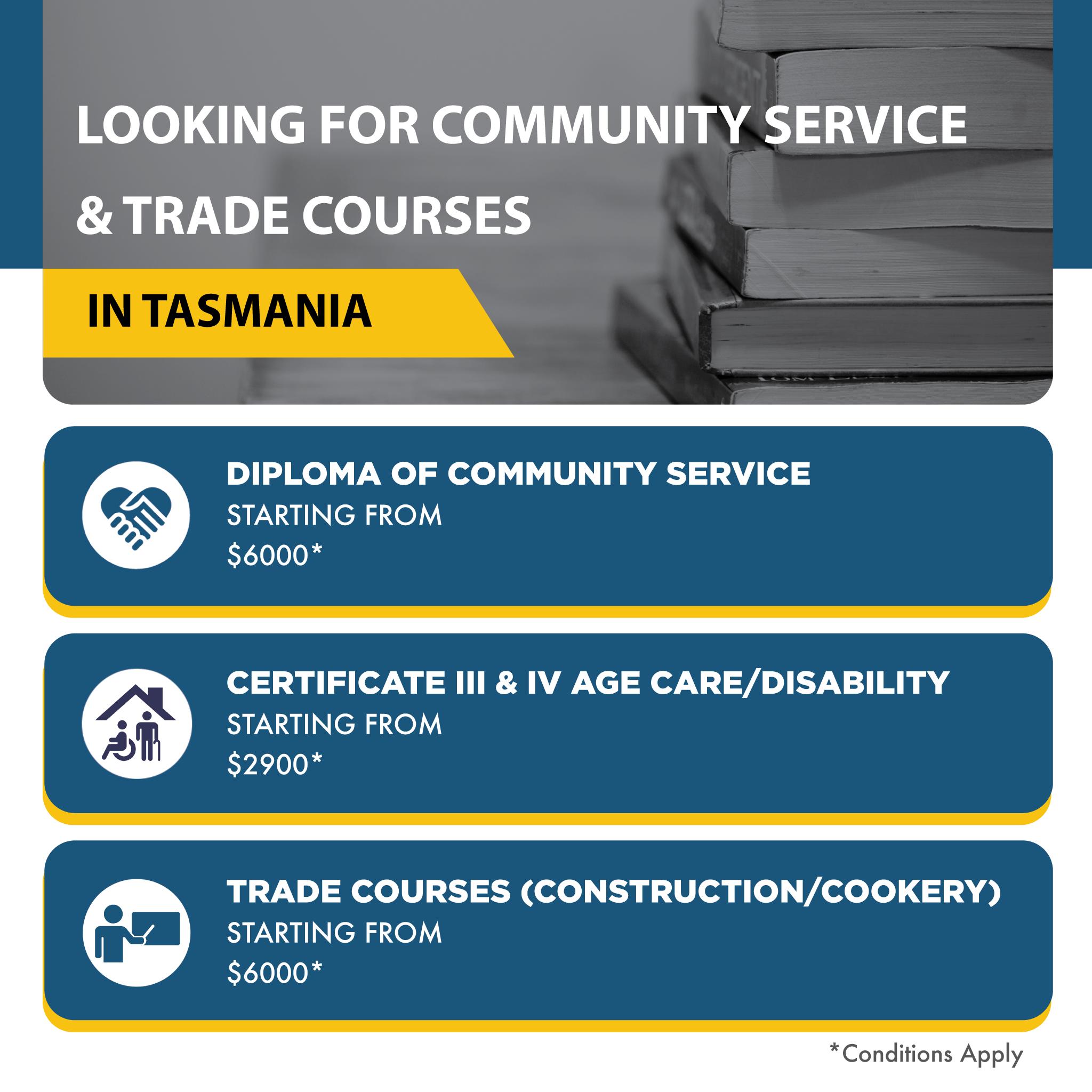 Trade Courses in Tasmania